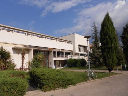Vue d'ensemble du bâtiment de la MMSH
