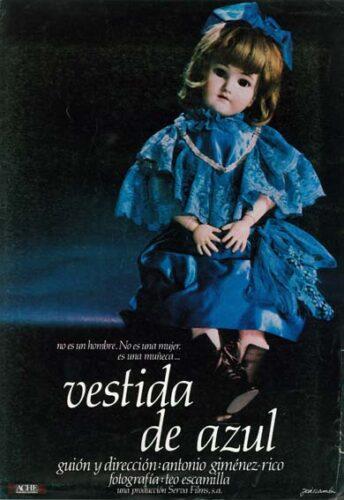 Affiche du film Vestida de Azul (1983)